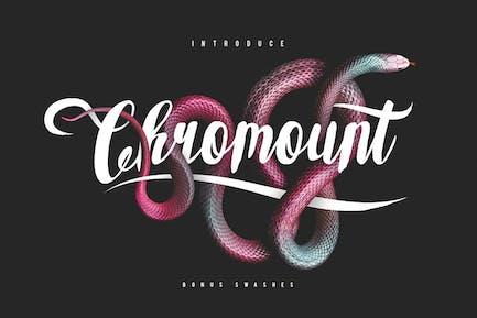 Chromount Typeface