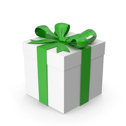 Geschenkkarton grün