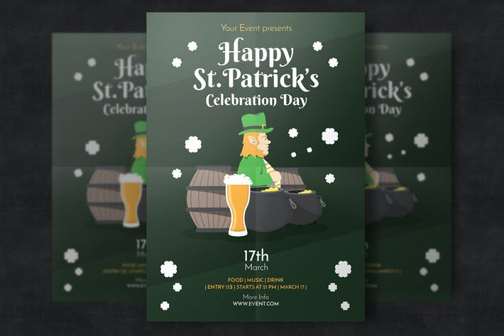 Cover Image For St. Patrick's Day Flyer