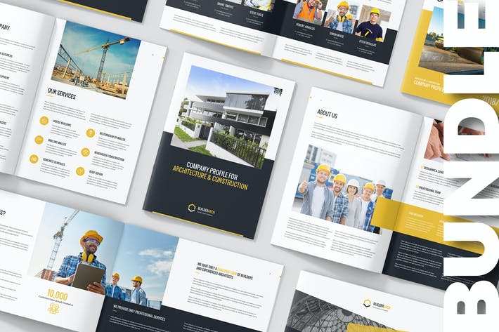 Thumbnail for BuilderArch – Construction Company Profile Bundle