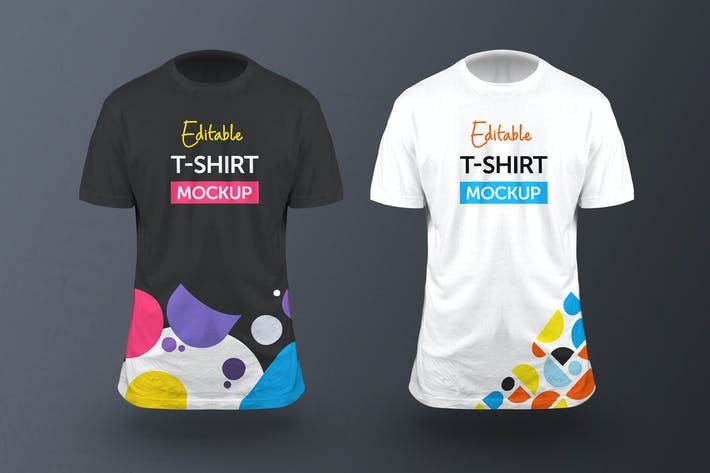 Thumbnail for 3D T-Shirt Mockup - Vol 01