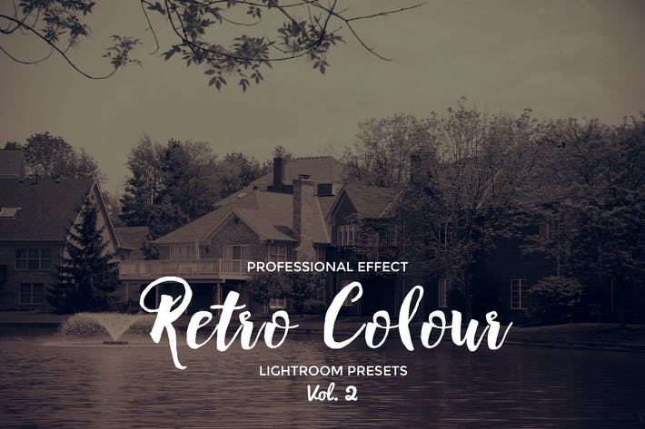 Cover Image For Retro Colour Lightroom Vol. 2