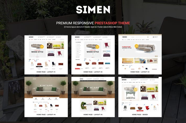 Thumbnail for SNS Simen - Responsive Prestashop Theme