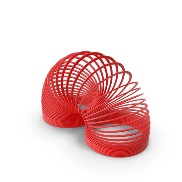 Plastic Toy Spring Curved