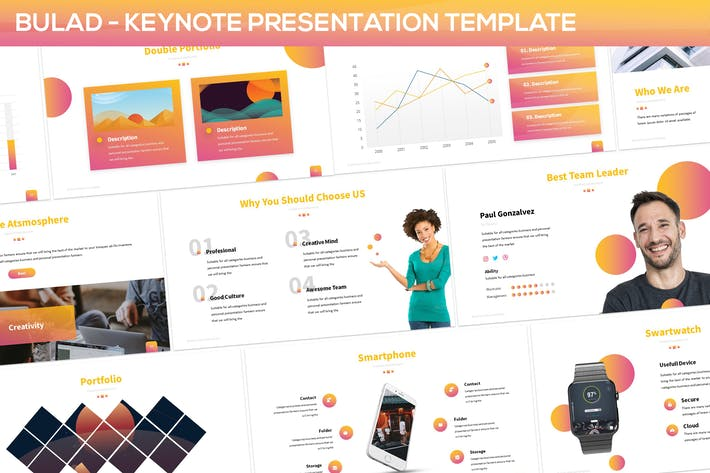 Thumbnail for Bulad - Multipurpose Keynote Template