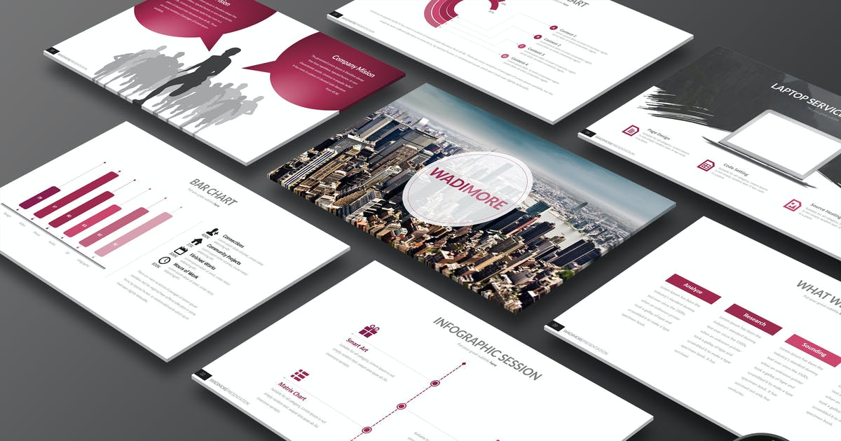 Download Wadimore - Keynote Template by Artmonk