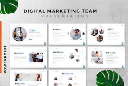 Digital Marketing Pro Powerpoint Slide