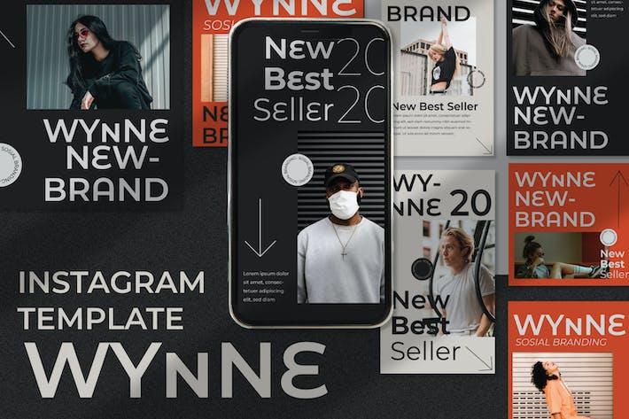 Thumbnail for Wynne Instagram-Vorlage