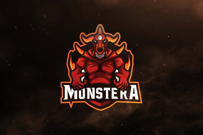 Monstera Sport and Esports Logos