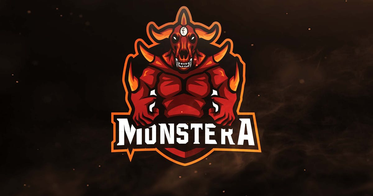 Download Monstera Sport and Esports Logos by ovozdigital