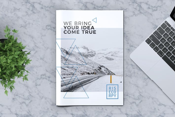 Thumbnail for Creative Brochure Template Vol. 33