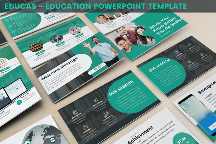 Thumbnail for Educas - Education Powerpoint Template