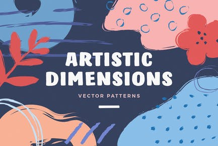 Künstlerische Dimension Abstrakte Muster
