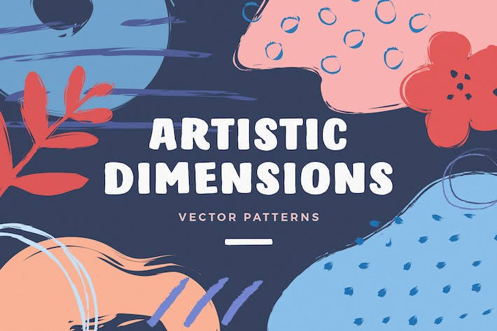 Thumbnail for Artistic Dimension Abstract Patterns