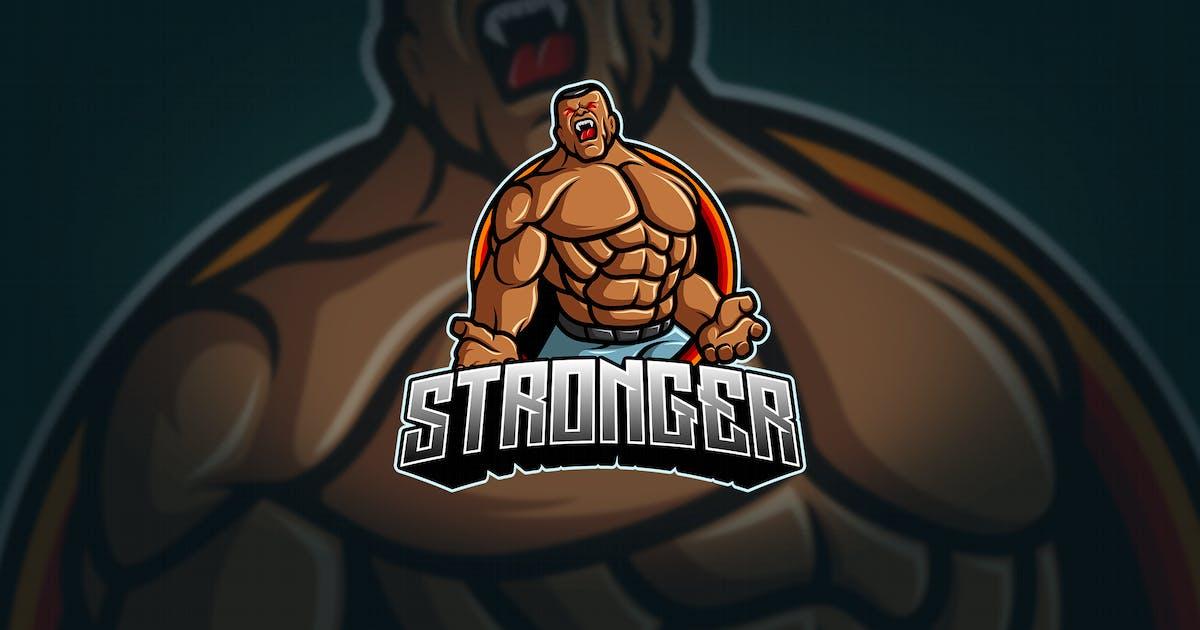 Download Stronger - Mascot & Esport Logo by aqrstudio