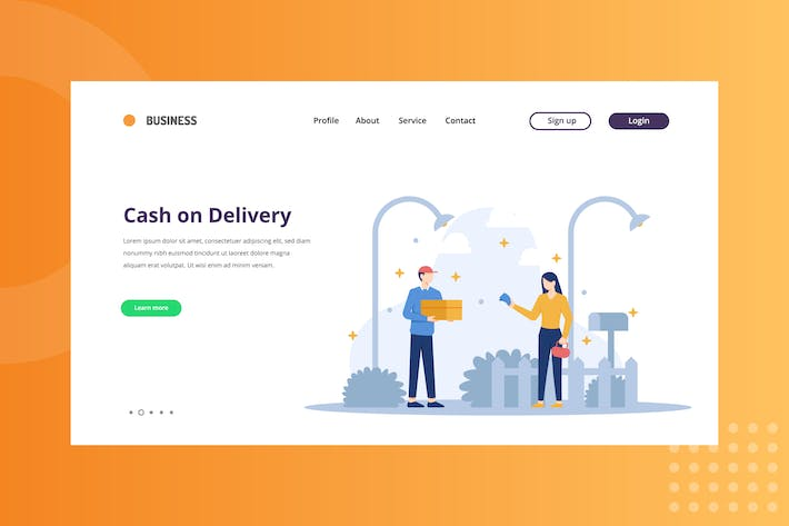 Thumbnail for Cash on Delivery Landing Page