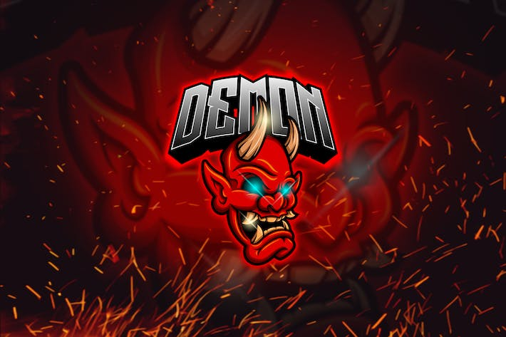 Thumbnail for Demon - Mascot & Esports Logo YR