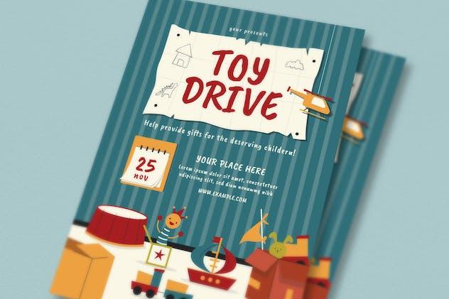 Toy Drive Flyer Set