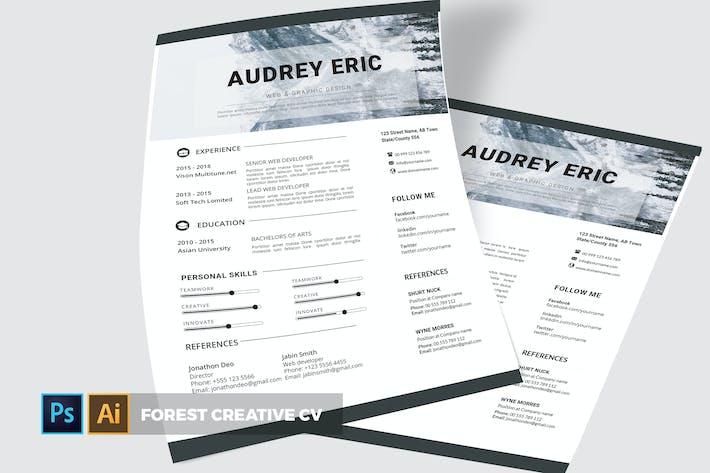 Thumbnail for Forest | CV & Resume