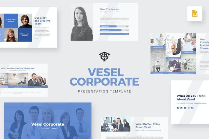 Thumbnail for Vesel Corporate - Google Slides