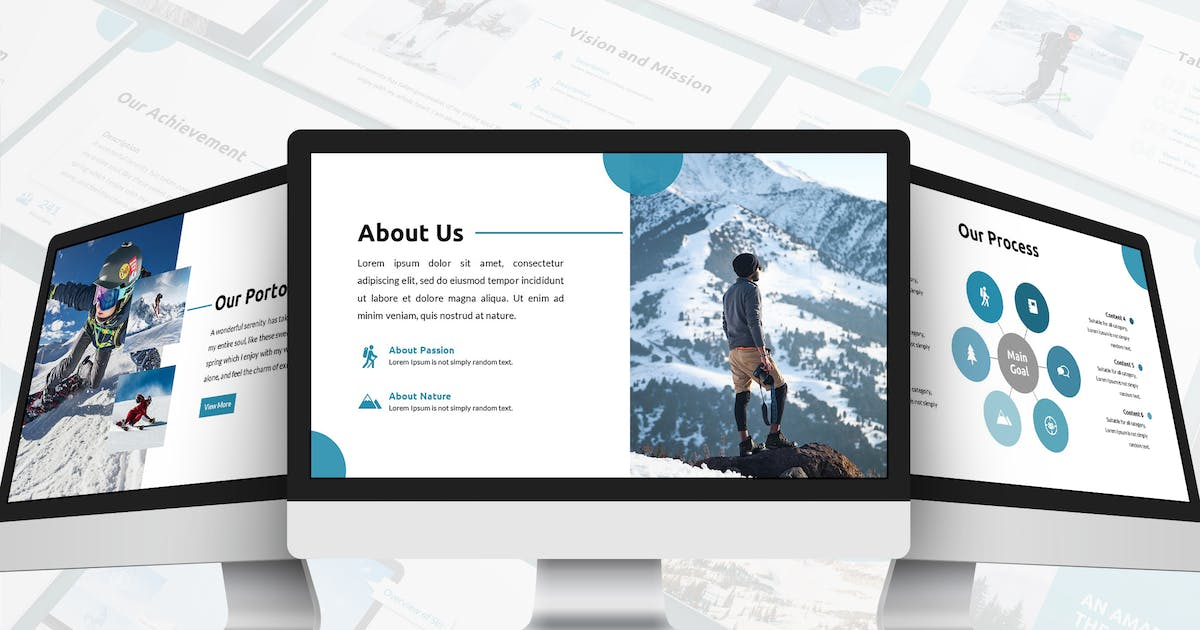 Download Rectoverso - Adventure Google Slides Template by SlideFactory