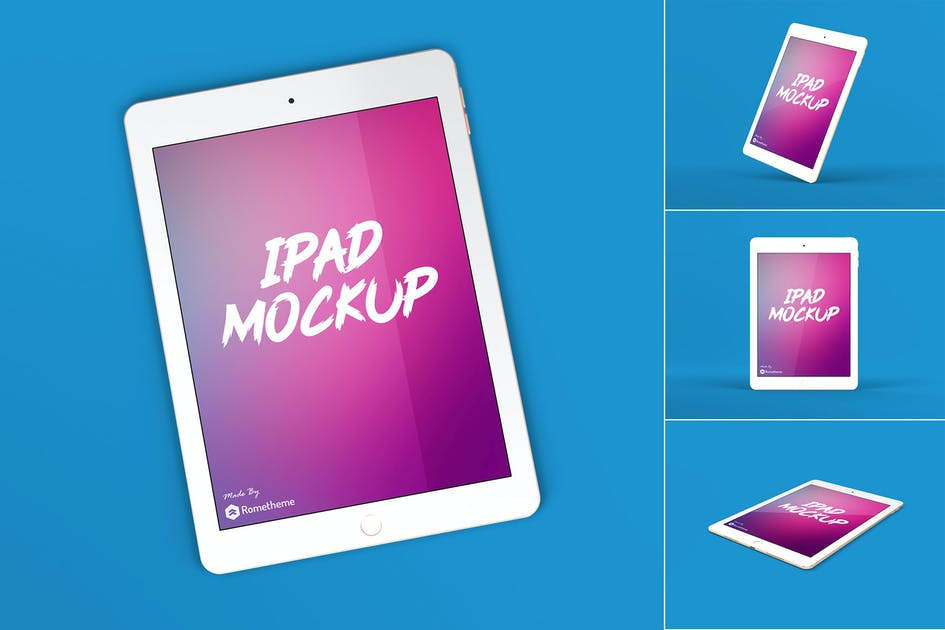 Download Ipad Tablet Screen Mockup vol.1 by Rometheme