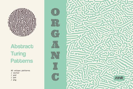 Organic Turing Patterns