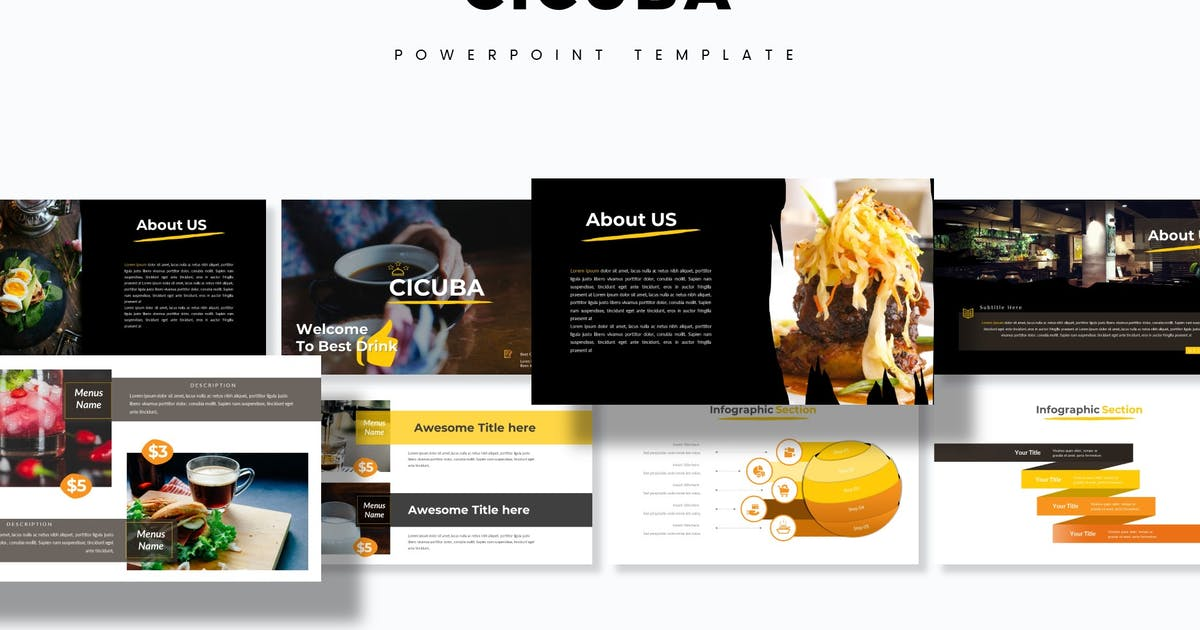 Download Cicuba - Powerpoint Template by aqrstudio