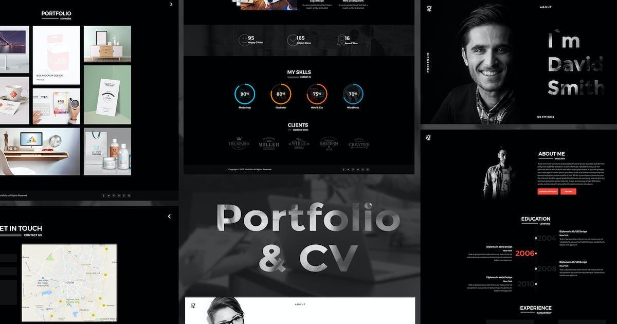 Download CV Portfolio - Portfolio HTML Template by kamleshyadav