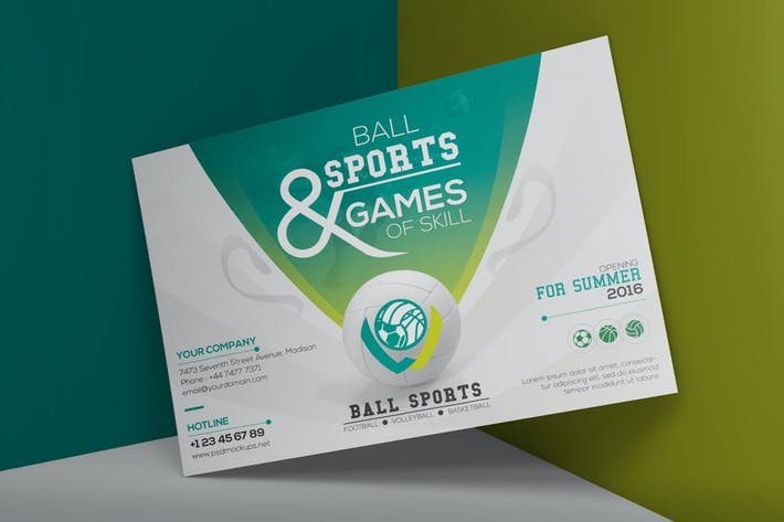 Thumbnail for Ball Sport - Set Template