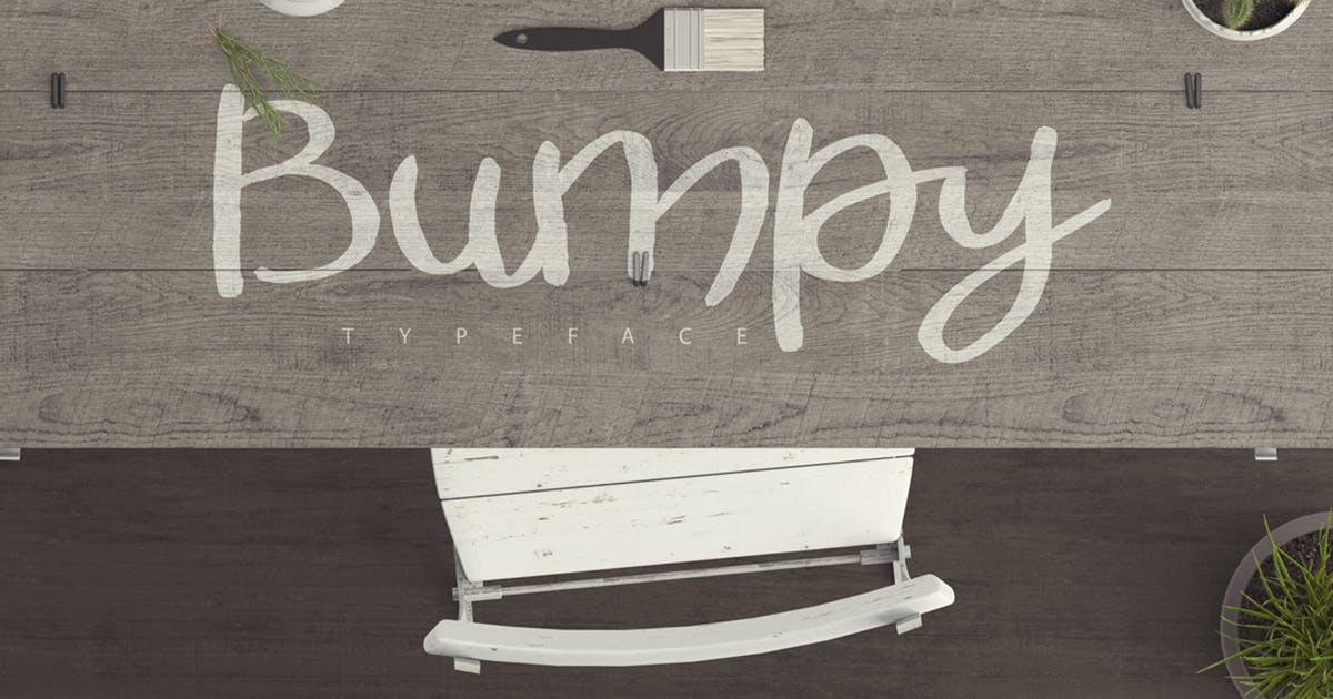 Bumpy Typeface by PereEsquerra