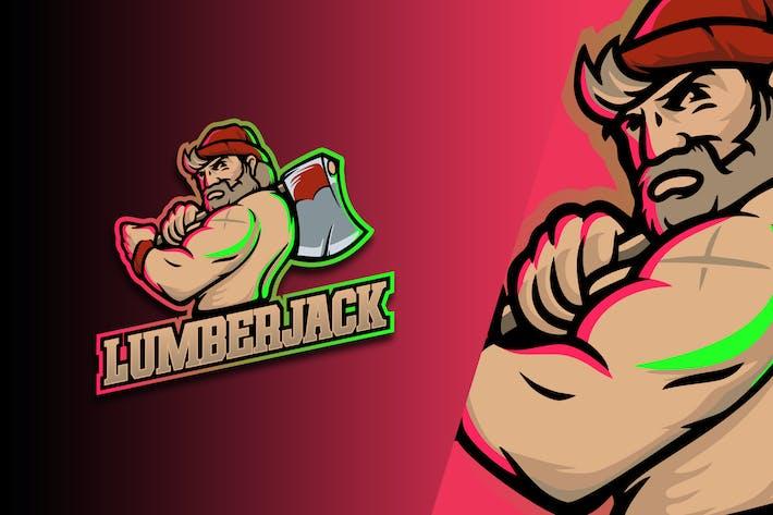 Lumber Jack Esport Logo Vol. 3