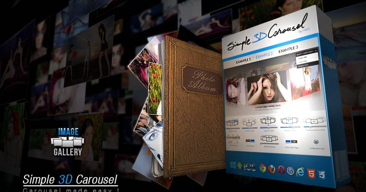 Download Simple 3D Carousel Wordpress Plugin by FWDesign