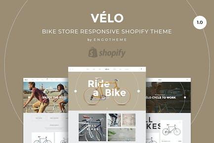 Velo | Tienda de bicicletas Responsivo Shopify Tema