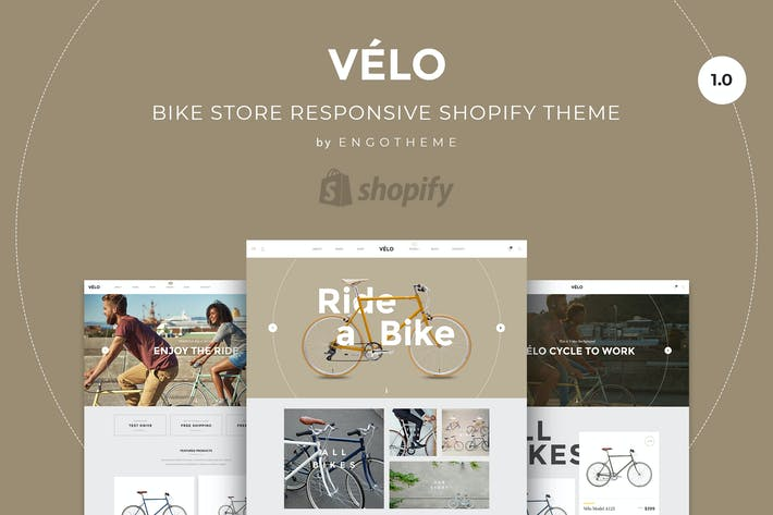 Thumbnail for Velo | Bike Store Responsive Shopify Thème