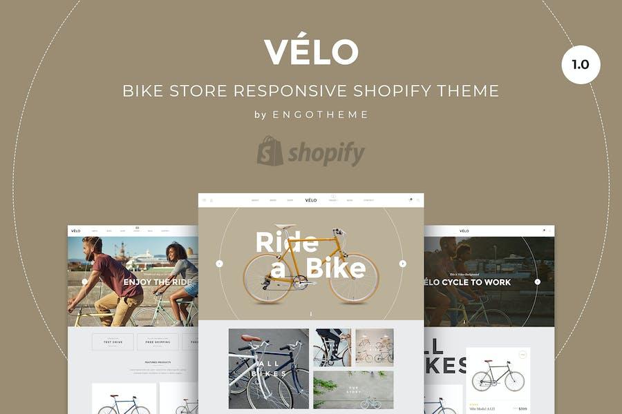 Velo | Bike Store Responsive Shopify Thème