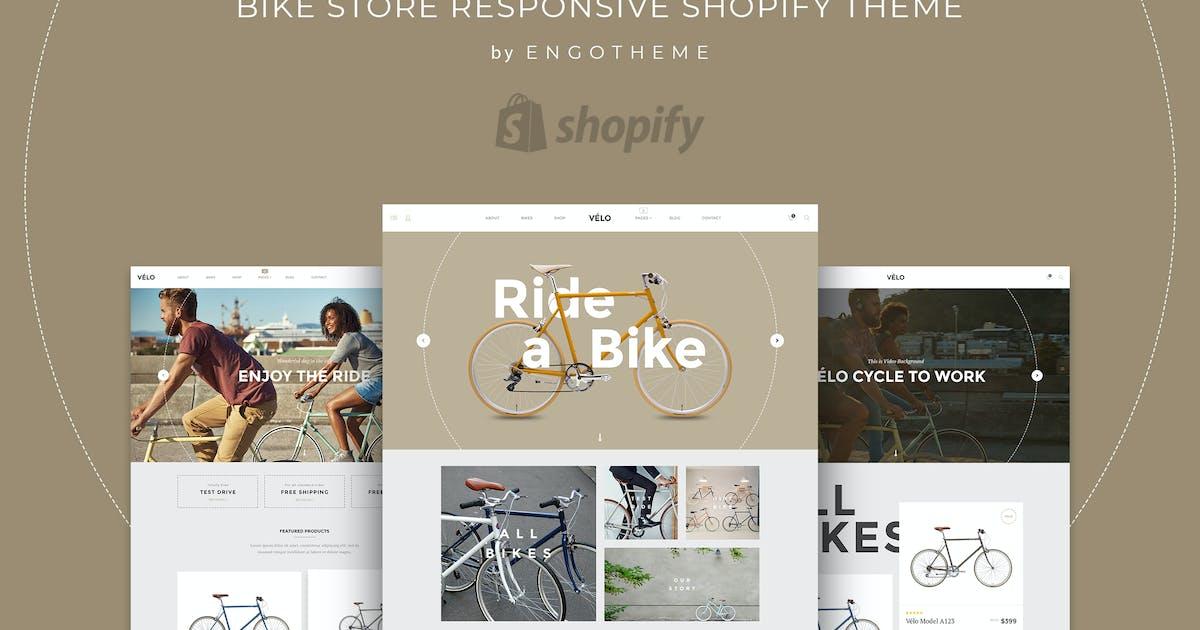 Download Velo | Bike Store Responsive Shopify Theme by EngoTheme