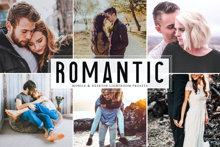Thumbnail for Romantic Mobile & Desktop Lightroom Presets