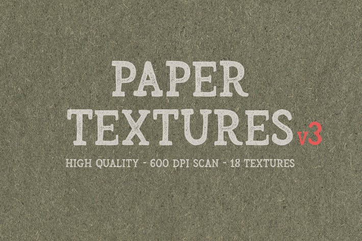 Cover Image For 18 Paper Textures v3