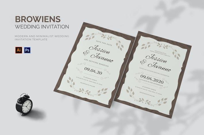 Thumbnail for Browiens - Invitation de mariage