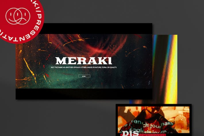 Thumbnail for Meraki - Urban Creative Agency Google Slides