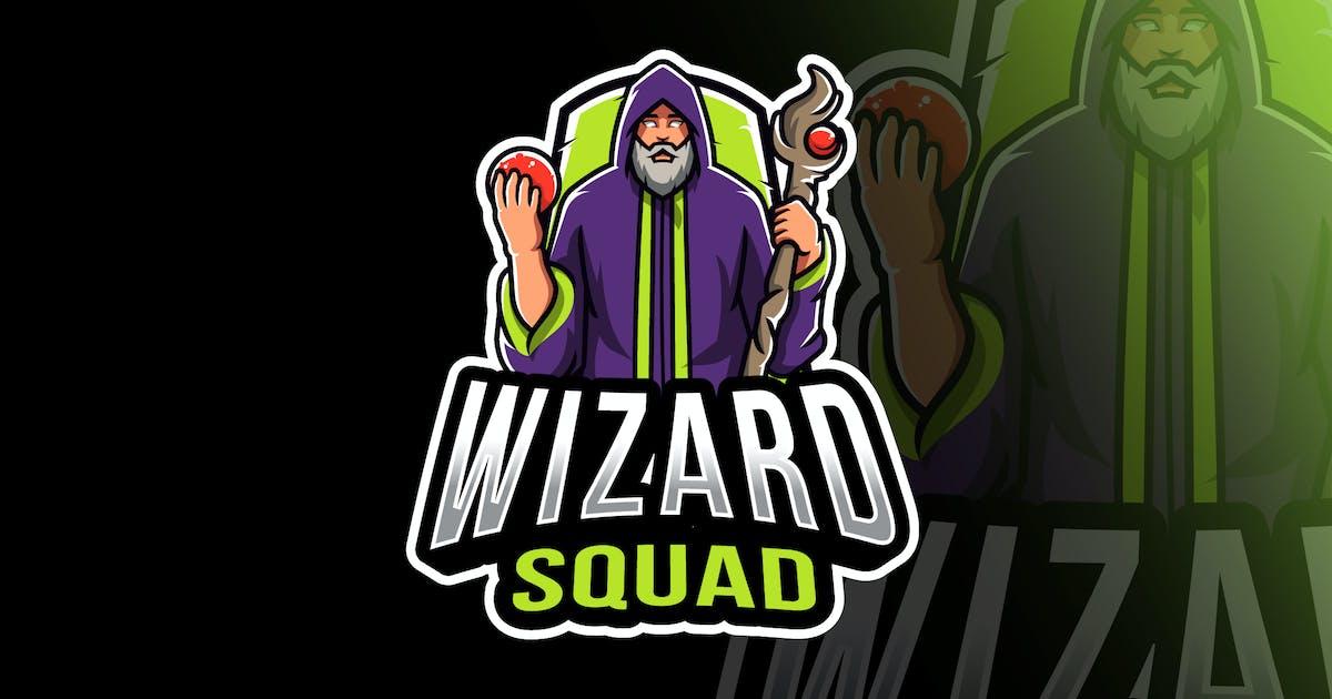Download Wizard Squad Esport Logo Template by IanMikraz