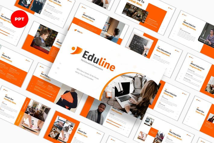 Thumbnail for Eduline Education - PowerPoint