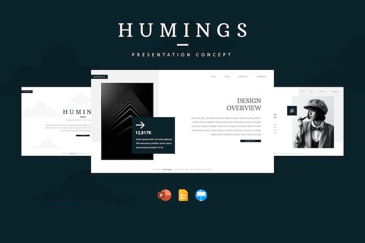 Humings - Шаблон презентации