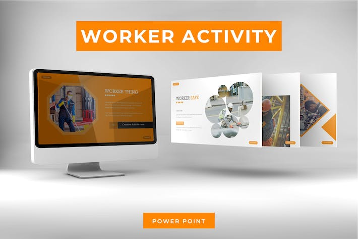 Worker Activity - Powerpoint Template