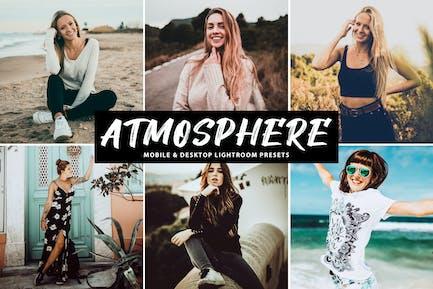 Atmosphere Mobile & Desktop Lightroom Presets