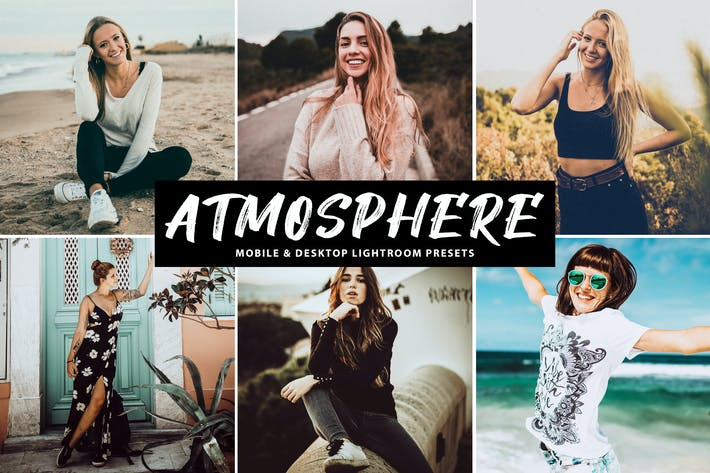 Cover Image For Atmosphere Mobile & Desktop Lightroom Presets
