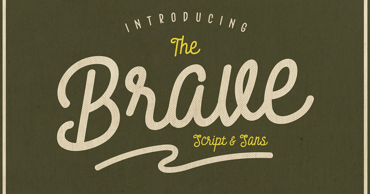 Download Brave Typeface by giemons
