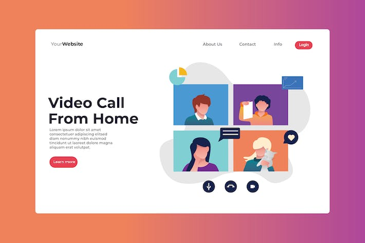 Thumbnail for Video Call From Home