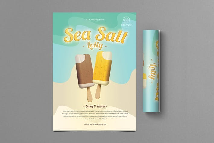 Thumbnail for Ice Cream Flyer